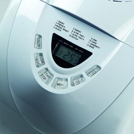 Domo B3970, Blanco, 600 W - Máquina de hacer pan (Importado de ...