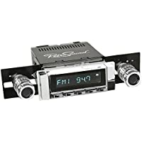 RetroSound HC-111-51-74 Hermosa Direct-Fit Radio for Classic Vehicles (Chrome Face and Buttons and Chrome Bezel)