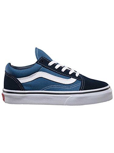 VANS Old Skool Classic Sneaker skate canvas Kids W9TNVY blau