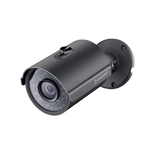 (Amcrest UltraHD Outdoor 4 Megapixel POE Bullet IP Security Camera - IP67 Weatherproof, 4MP (2688 TVL), REP-IP4M-1025E (Black) (Renewed))