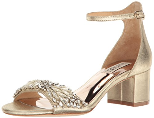 Badgley Mischka Women's Tamara Dress Sandal, Platino, 7.5 M US by Badgley Mischka