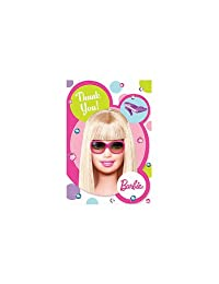 Barbie Thank You Notes (6 pack) BOBEBE Online Baby Store From New York to Miami and Los Angeles
