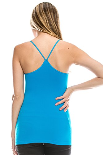 Kurve Back Spaghetti Strap - Made In USA,Turquoise,X-Small/Medium (One Size)