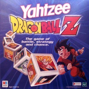 Yahtzee Dragonball Z (Dragon Ball Z Board Game)