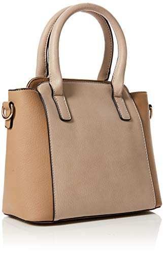 051d3fb8be270 Dorothy Perkins Womens Hardware Zip Mini Canvas and Beach Tote Bag ...