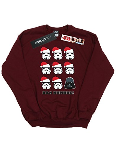 Humbug Camisa Mujer Entrenamiento Wars De Star Borgoña Christmas UxAptZw