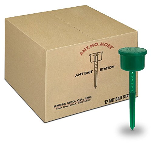 Kness Ants No More Ant Bait Stations, Box of - Liquid Ant Stations Bait