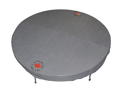 round tapered spa cover