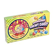 Concord Confections Cry Baby Extra Sour Supercharged Chewy Sour Candy, (Pack Of 12)