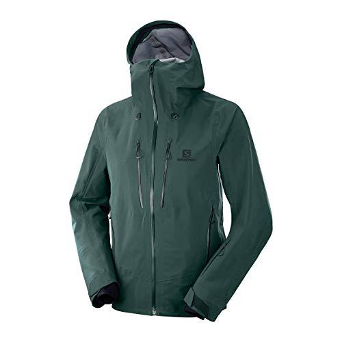 Salomon Men's Icestar 3L Jacket Green Gables M