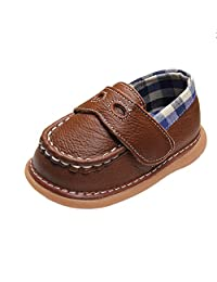iFANS Toddler Cute Shoes Baby Girls Princess Flat Kids Leather Oxford Shoes