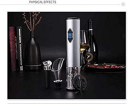 Sacacorchos de vino, sacacorchos de vino eléctrico, sacacorchos de vino con cortador de papel de aluminio, se puede utilizar para fiestas familiares de restaurantes