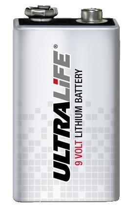 Batterie, ULTRALIFE 9V Lithium bpsca u9vl-j-p–bt05193von Ultralife