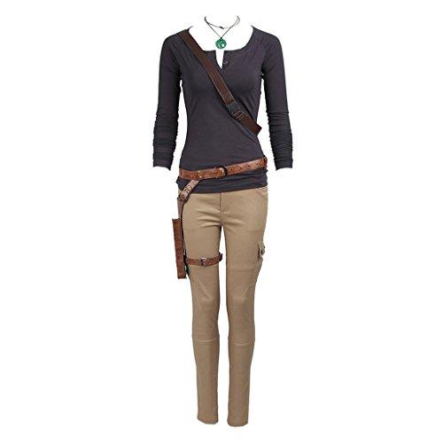 CosplayDiy Women's Suit for Tomb Raider Lara Croft Cosplay XL ST