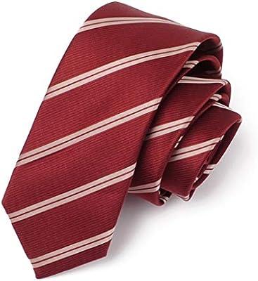 Corbata para Hombre / 6 cm Corbata/Ocupación/Rojo/Multi Estilo ...