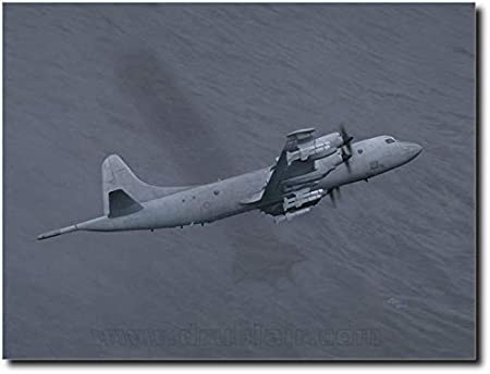"""/""""You Can Run..../"""" Michael Harris P-3 Orion Limited Edition Print"""