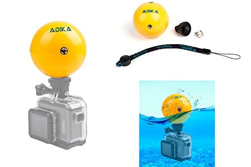 Aquasphere–(1pieza) Floaty flotador flotante flotabilidad bola dispositivo impermeable para GoPro Accesorios Héroe...