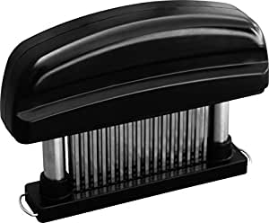 Professional Grade 48 Blade Meat Tenderizer Tool Compare To Jaccard Tenderizer (Black)