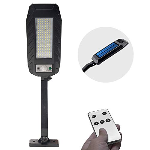 Solar Lights Outdoor Motion Sensor, Wireless Security Lights with Remote Control