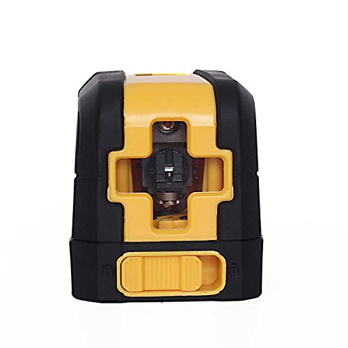 uMeasure Self-Leveling Laser Level Cross Line Laser With Red Light Source & Adjustable Mounting Clamp Mini Style Easy to Use and Carry IP54 Waterproof & Dustproof