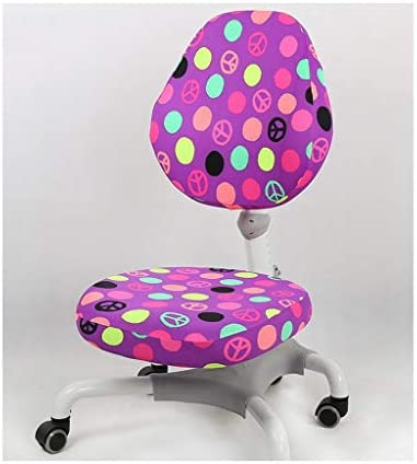 ダイニングルームの椅子カバー コンピュータオフィスチェアカバー - 保護&伸縮ユニバーサル議長はストレッチ回転椅子本のカバー、取り外し可能&洗えるカバー 椅子カバープロテクター (Color : A)