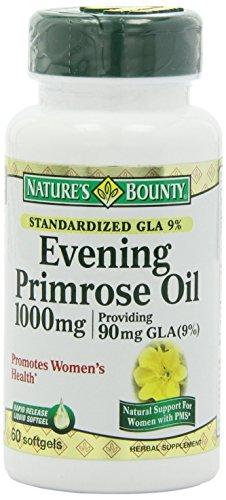 Nature's Bounty Evening Primrose Oil, 1000mg, 360 Softgels Bounty -glfr by Nature's Bounty