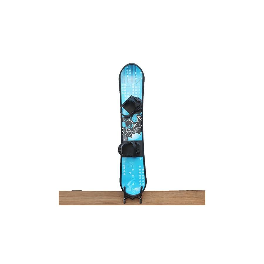 YYST Snowboard Portable Stand Snowboard Storage Rack Storage Organizer Holder Display Stand Wall Rack Fit All Snowboards