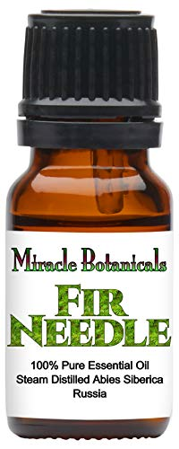 Miracle Botanicals Fir Needle Essential Oil  100% Pure Abies Siberica  Therapeutic Grade  10ml