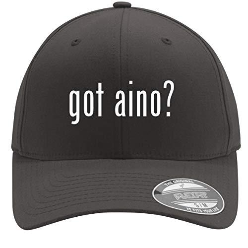 got Aino? - Adult Men's Flexfit Baseball Hat Cap, Dark Grey, Large/X-Large