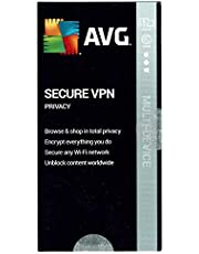AVG Secure VPN 2020 for 5 devices/1 Year new key card