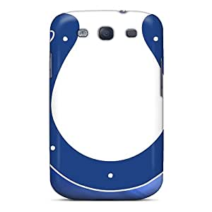 Durable Hard Cell-phone Case For Samsung Galaxy S3 (XTy10537VLfM) Provide Private Custom Stylish Indianapolis Colts Pictures