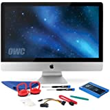 OWC SSD Upgrade Kit For 2010 27-inch iMacs, OWC Mercury Electra 500GB 6G SSD, 18 SATA III 6Gbps data cable, SSD Power Cable, Installation tools and iMac screen adhesive tape set
