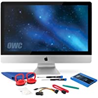 OWC SSD Upgrade Kit For 2010 27-inch iMacs, OWC Mercury Electra 60GB 6G SSD, 18 SATA III 6Gbps data cable, SSD Power Cable, Installation tools and iMac screen adhesive tape set