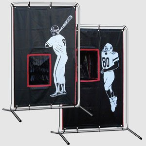 Baseball Football Backstop Catcher with Frame