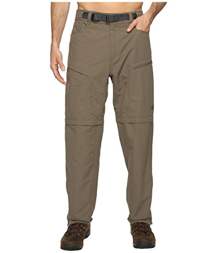 The North Face Men's Paramount Trail Convertible Pants Weimaraner Brown Large 30