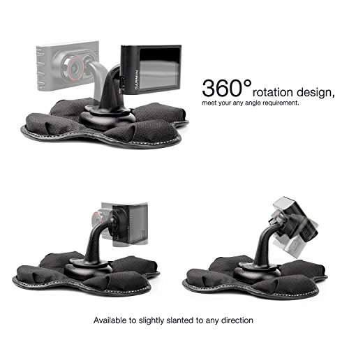 Bestand GPS Dashboard Mount, Portable Friction Mount for