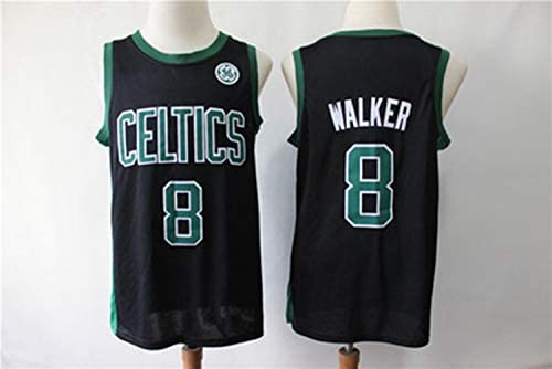 buy popular 61e6d a5a11 Kemba Walker NO.8 Boston Celtics Embroidered Jersey City ...