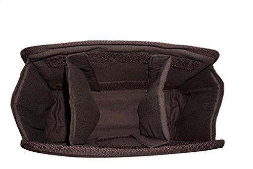 BAO brown Compras Elegante Bolso de Brown Oblicuo Cuero de de dark Bolso Cuero Dark cámara la Viaje Shiny Multifuncional Brillante Bolso shiny 1q1rfnw
