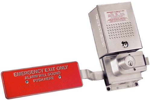 Alarm Lock 11A Sirenlock Aluminum Rim Exit Device Exit Device by Alarm Lock