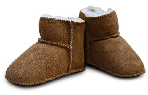Heitmann - Zapatos primeros pasos para niña - Baby camel