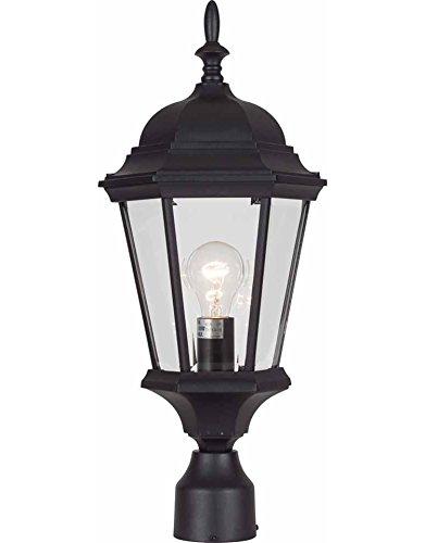5 Light Outdoor Post Mount (Volume Lighting V8226-5 1-Light Outdoor Post Mount, Black)