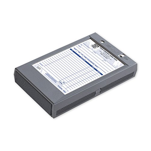 (CheckSimple Portable Register - Plastic Register for 5 1/2 x 8 1/2 Forms (1 Qty))