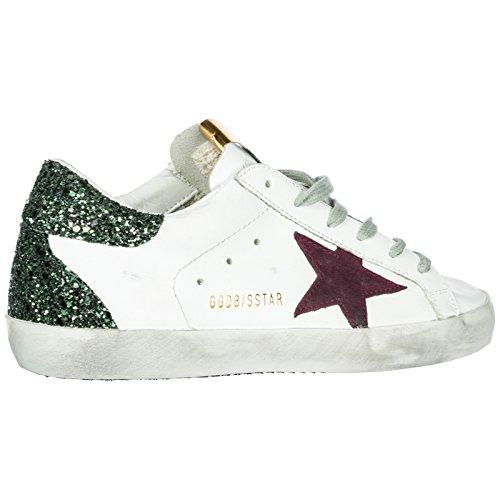Femme Baskets Sneakers Superstar Cuir Golden Blanc en Goose Chaussures IHSqwq