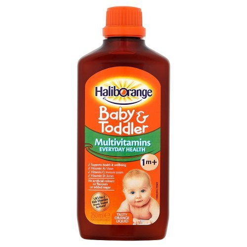 (3 PACK) - Haliborange - Baby and Toddler Liquid | 250ml | 3 PACK BUNDLE by Haliborange