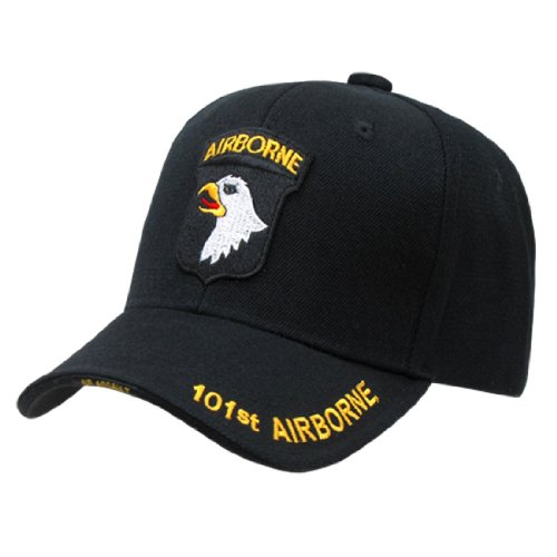 Rapid Dom US Military Legend Branch Logo Rich Embroidered Baseball Caps S001 101st Airborne