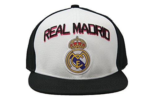 Real Madrid Fc Club Snapback Adjustable CAP Hat – White-black NEW Season – DiZiSports Store