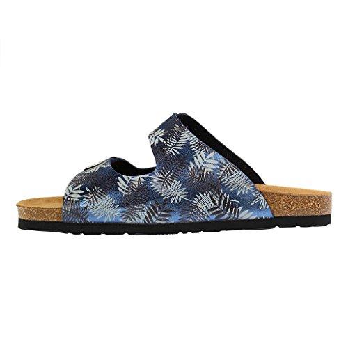 701062 blau Dr 5 Blau Damen Pantolette Brinkmann qZqRI8