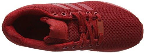 adidas Zx Flux, Zapatillas Unisex Adulto Rojo (Power Red /   Power Red /   Collegiate Burgundy)