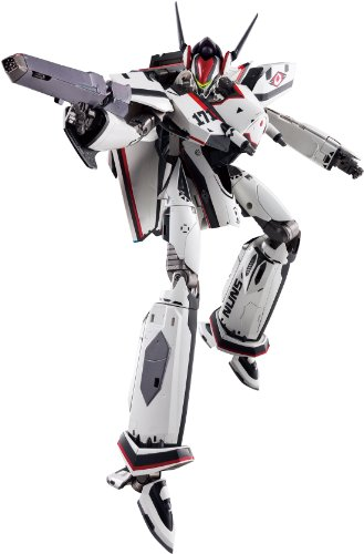 Macross DX Chogokin Theatrical Feature F (Frontier) Sayonara no Tsubasa VF-171EX Nightmare Plus EX (Alto Saotome Custom) 30cm Tall Transformable Action Figure (Japan Import)