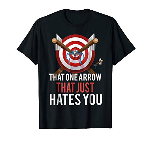 Archery Shirt Archer T Shirt Arrows Gift Just Hates You